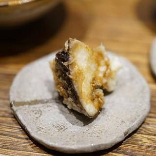 日本橋 蕎ノ字 - 料理写真:玉取茸