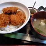 9815876 - ヒレカツ丼(玉子なし) 650円