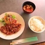 98150051 - ポークステーキ定食