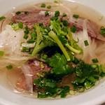 サイゴン・レストラン - 牛肉のフォー