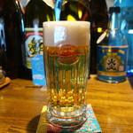 沖縄ごはん くくるやー - ランチオリオンビールジョッキ