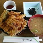海づくし - 料理写真:いわし天丼¥1360-