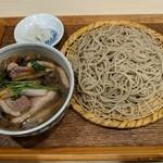 手打ち蕎麦 雷鳥 - 料理写真:【2018/12】鴨汁せいろ