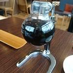 倉式珈琲店 - サイフォンコーヒー。初めて実物を見ました。