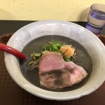 麺屋大河 - 黒味噌らーめん900円