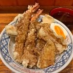 旬彩なないろ - 海老と穴子の天丼