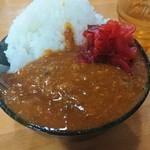 麺屋かわせみ - 小カレー