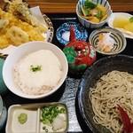 手打ち蕎麦 天晴 - あっぱれ御膳(ざる)