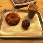 MORETHAN BAKERY - ベーグル・チーズ、ブリオッシュ・マロン&ブラック・ミルクティー