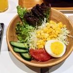 ステーキ食堂 正義 - サラダ‼️(*^ー^)ノ♪
