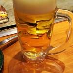 福太郎 - 生ビール