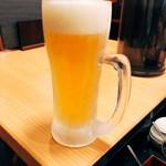 ラーメン 戸みら伊 - 生ビールは390円!