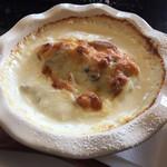 café nakagawa - 料理写真:鶏と里芋の和風グラタン(1,400円 税込)評価=◎ クリーミィなグラタンです!
