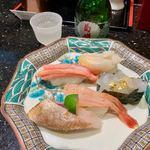 金沢まいもん寿司 - 加賀百万石握り 1300円