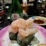 金沢まいもん寿司 - 甘えびがんこ盛り 460円