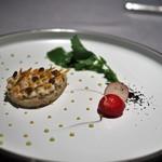 ASAHINA Gastronome - ズワイガニ エフィロシェにし、コック貝と共にラルム仕立て