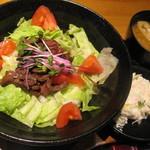 飛騨牛ダイニングかはん - 料理写真:飛騨牛ステーキ丼