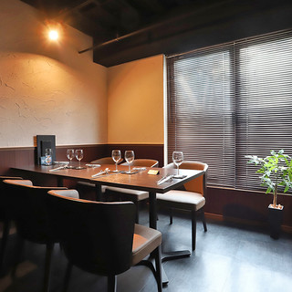 ◆接待に使える、完全個室をご用意。
