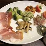 ピッツェリア ナポレターナ ラルデンツァ - 〇前菜盛合せ 1,700円