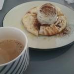 ほりかわ珈琲店 - チャイ&ココナッツパン