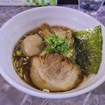 製麺rabo - 料理写真:製麺rabo(支那そば700円+味付玉子100円)