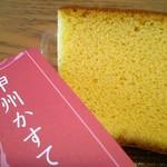 石和名湯館 糸柳 - 料理写真:7×7×2.5cm位の大きさ 下部にザラメがついてます♪