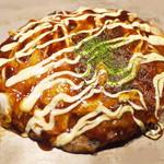 福太郎 - もチ玉焼(1080円)+豚(300円)