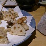 鮨・椿油天ぷら  八木 - 天ぷらその2、とペアリング