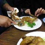 鳥房 - 料理写真:お肉をスピーディーにバラシてくれます^^