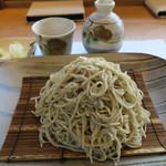 小来川 山帰来 - もり蕎麦(大盛り)