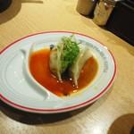 屯ちん - 茹で餃子セット920円の茹で餃子3個