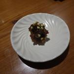 玄蕎麦 路庵 - 青唐辛子味噌