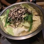 博多 なぎの木 - もつ鍋