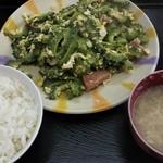 いちぎん食堂 - ゴーヤーチャンプルー630円