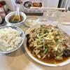 らーめんはうす - 料理写真:「肉野菜炒め」(850円)+「ライス」(150円)