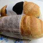 ラ パレット - あんバター&練乳パン