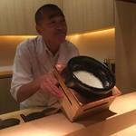 神楽坂 石かわ - 土鍋ご飯
