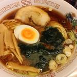 麺道部 - 中華そば煮卵あり1.5玉700円