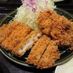 とんかつ和幸 - 料理写真:ひれロース盛り合わせ