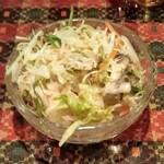 マナカマナ インドネパール料理&バー - セットのミニサラダ