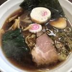 らーめん来斗 - 料理写真:昔風醤油ラーメン  700円