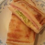 Cafe FUZIMI - ホットサンド