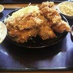 9820778 - 鶏の唐揚げ定食