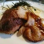 ブルーテ - 生姜焼きとミニバーグ