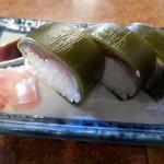 四國うどん - 鯖寿司