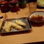 よし平 - 紀州ご馳走天ぷら刺身膳