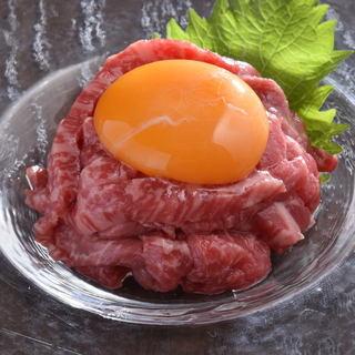 ユッケ[注目]ユッケ・寿司…生肉を楽しむ♪