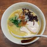 麺屋 こいけ - 超濃厚鶏白湯そば