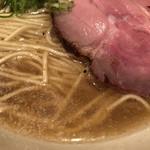 中華蕎麦 蘭鋳 - エッジの立った煮干しスープ