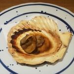 肉炉端 弁慶 - ホタテバター醤油